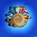 My beachy planet by Ennui92