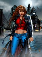 Witchblade cover by J-Skipper
