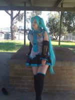 Miku Cosplay by Ali-lia