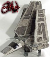 Imperial Shuttle Tydirium Custom by jvcustoms