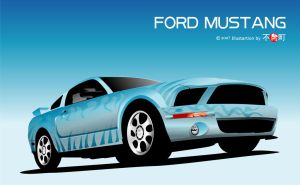 FORD MUSTANG by bunaioding