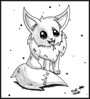 Eevee example by Evoli-niceli