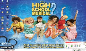 High School Musical 2 Desktop by keyofligh88