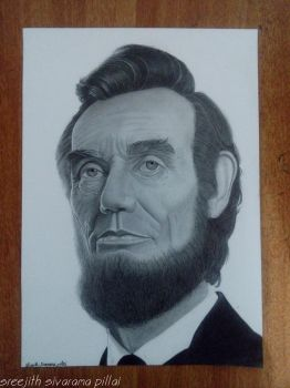 Abraham Lincoln by sreejithsp