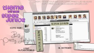 Theme WinRAR Super Junior by PrettyLadybug093