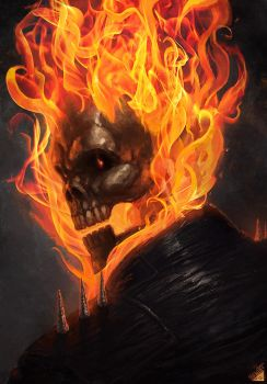 Ghost Rider by Memed