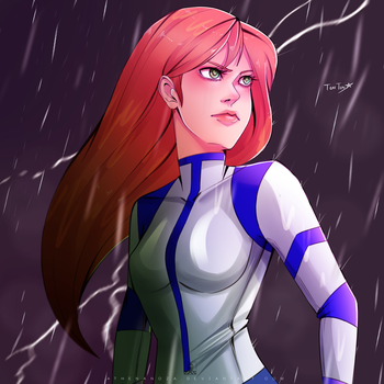 Commission: Kim Possible by athenanoza