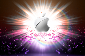Exploding Apple by amine5a5