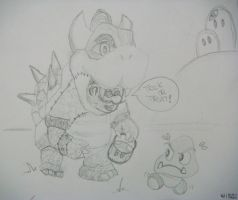 Super BOWSER! (psst.. it'sa me, mario!) 64!  :D by nintentofu