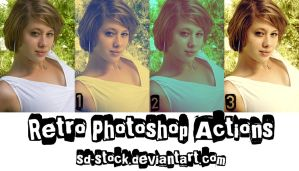 Retro Actions 2 by sd-stock