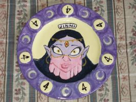 Zombie Girl Plate 04 Front by Gummibearboy
