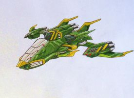 SEEKER team request: ACID STORM alt mode by kishiaku