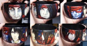 Vincent valentine bracelet by Crimson-rose-x