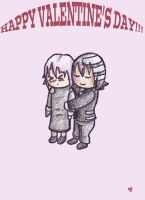 ((OOC)) KiRona Valentine's Day Card!!!! by Ask-CronaMakenshi