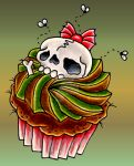 Cupcake or Death? by VoodooKatTattooer