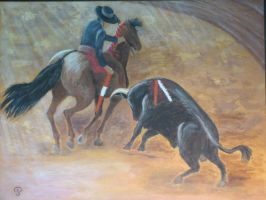 Corrida by PascalePerrot