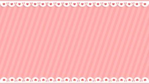 Cutie Ribbon and Heart BG | Free BG/Stock by tsun-derella