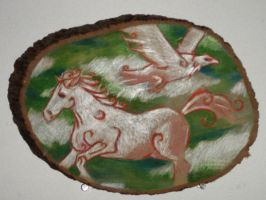 Horse and Eagle by Kunsthaus