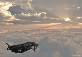 Between the Clouds by thd777