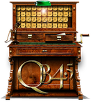 Steampunk QuickBasic 4.5 QB45 Icon by yereverluvinuncleber