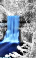 Waterfall II by Vlue