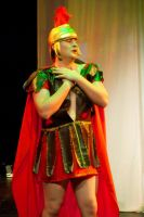 Nick Bottom as Pyramus by Zildjainzone
