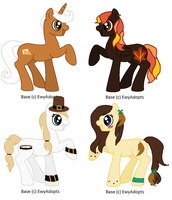 Thanksgiving/Fall Adoptables (CLOSED) by vega37