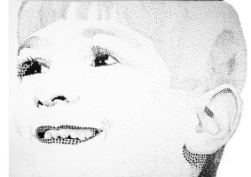 Little Elad Pointillism by Elcool