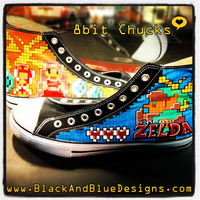 8-bit Zelda Chucks by Chylde