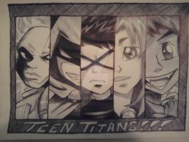 Teen Titans by Kitel7997