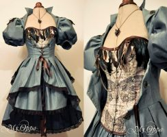 Custom order My Oppa  Steampunk Alice by myoppa-creation