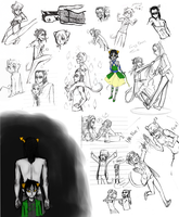 Mostly Nepeta and Equius by irVampire