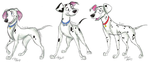 101 Dalmatians Grown-Up Pups part 4 by Stray-Sketches