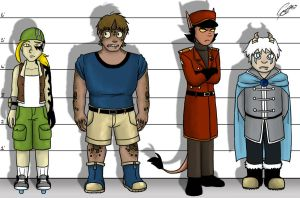 TRADE - The Unusual Suspects by caat
