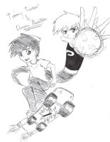Timmy Turner and Danny Phantom by Mistic-dreamer