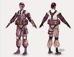 Costume Concept - Engineer - Male by musegames