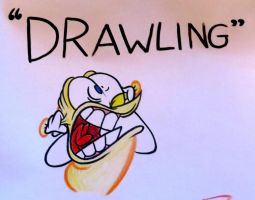 Drawling by Lotusbandicoot