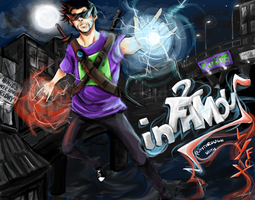 Infamous with SlyFoxHound by Teacupika