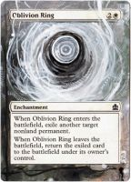 Magic Card Alteration: Oblivion Ring 3/28/13 by Ondal-the-Fool