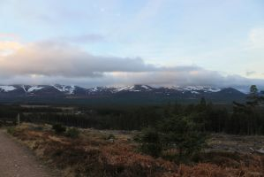 Dawn In The Scottish Highlands by 53kshun8