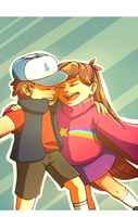 Gravity Falls by Cheroy