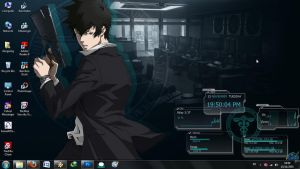 RainMeter PSYCHO-PASS by dongseng23