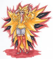 Zapdos by nickyflamingo