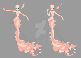 Sketch Base Mermaid 1 by Efyme