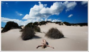 The sand and the clouds by FracturedSensuality