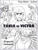 Tania Vs Victor by Andruw