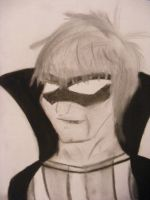 Trickster Charcoal Drawing by CoolestNinja1242