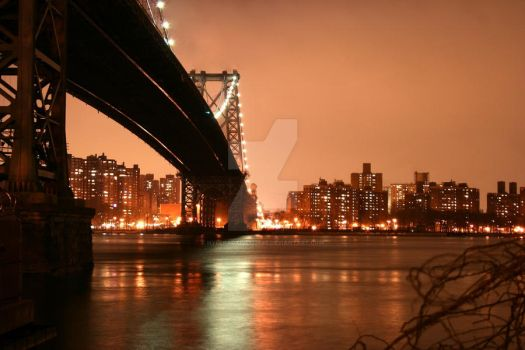 Williamsburg bridge by hyperactive122986