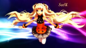 SeeU Wallpaper by Kara-chann