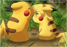 Deep In The Woods - PikaCHU by Isi-Daddy